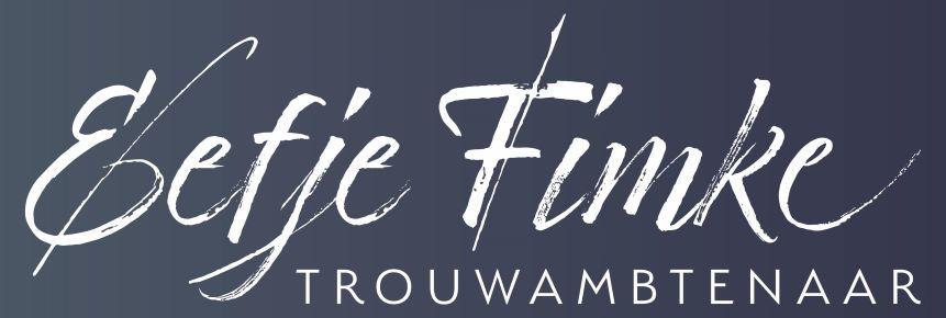 Trouwambtenaar Eefje Fimke logo