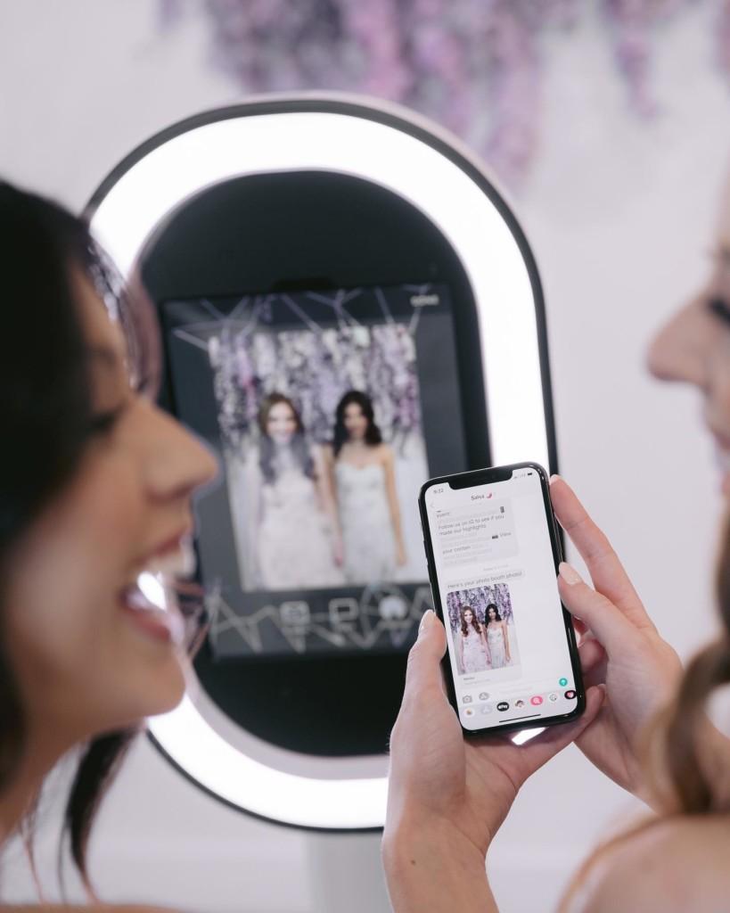 Photobooth digitaal delen